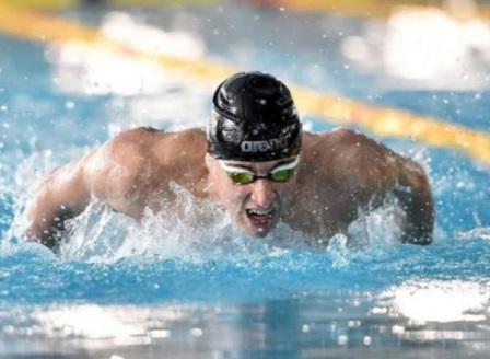 Миландинов с нов национален рекорд на 100 м. бътерфлай