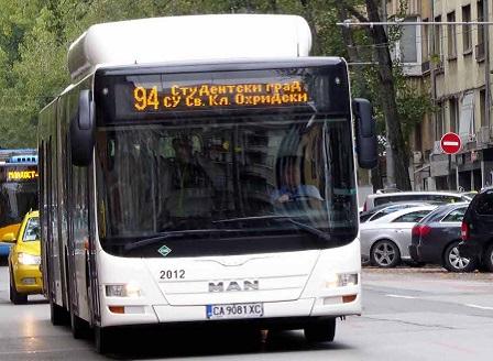 Блокадите отново промениха маршрута на градския транспорт в столицата